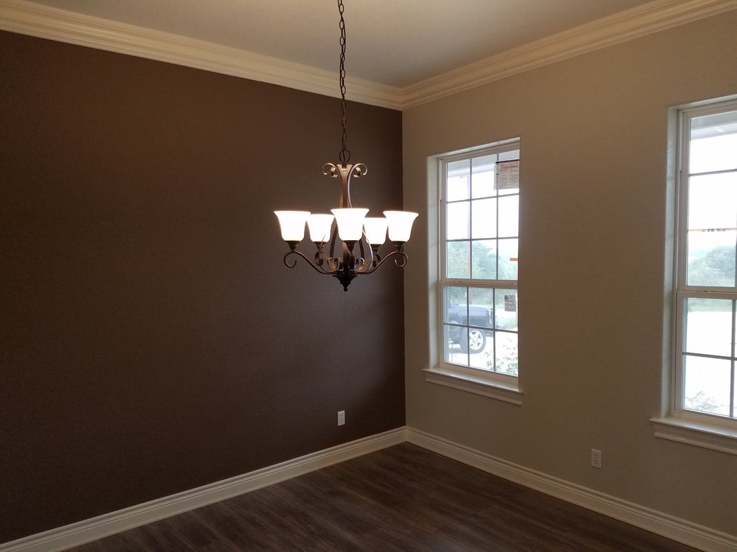 Custom Home and Lighting by Domain Homecrafters