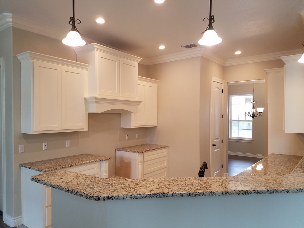 Custom Kitchen and Custom Cabinets by Domain Homecrafters in South Texas